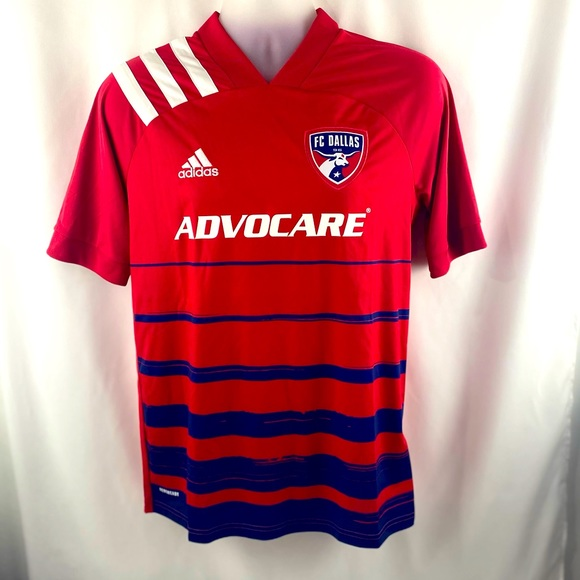 Adidas FC Dallas Home Jersey / Youth XL / EH8696